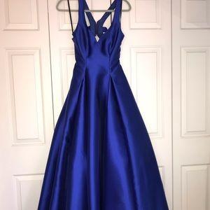 56b49099cb0a Dresses | Royal Blue Prom Dress | Poshmark